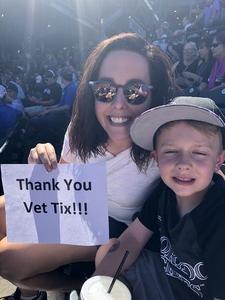 Casey attended Colorado Rockies vs Arizona Diamondbacks - MLB on Sep 13th 2018 via VetTix
