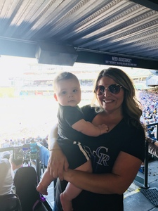 Julie attended Colorado Rockies vs Arizona Diamondbacks - MLB on Sep 13th 2018 via VetTix