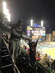 Robert attended Detroit Tigers vs. Kansas City Royals - MLB on Sep 21st 2018 via VetTix
