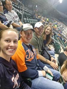 Christopher attended Detroit Tigers vs. Kansas City Royals - MLB on Sep 21st 2018 via VetTix