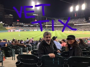 lawrence attended Detroit Tigers vs. Kansas City Royals - MLB on Sep 21st 2018 via VetTix