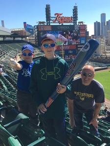 Anthony attended Detroit Tigers vs. Kansas City Royals - MLB on Sep 23rd 2018 via VetTix
