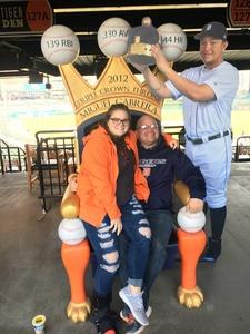 Jayson attended Detroit Tigers vs. Kansas City Royals - MLB on Sep 23rd 2018 via VetTix