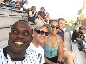 Lucrecia attended Oklahoma State University Cowboys vs. Missouri State - NCAA Football on Aug 30th 2018 via VetTix