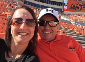 Loren attended Oklahoma State University Cowboys vs. Missouri State - NCAA Football on Aug 30th 2018 via VetTix