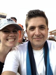 Landon attended Oklahoma State University Cowboys vs. Missouri State - NCAA Football on Aug 30th 2018 via VetTix