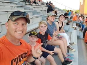 Jonathan attended Oklahoma State University Cowboys vs. Missouri State - NCAA Football on Aug 30th 2018 via VetTix