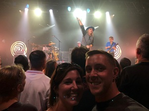 Frederick attended 3 Doors Down and Collective Soul on Sep 8th 2018 via VetTix