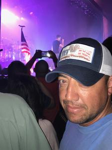 August attended 3 Doors Down and Collective Soul on Sep 8th 2018 via VetTix