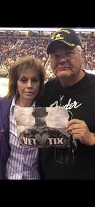 Victor attended Phoenix Mercury vs. Seattle Storm - WNBA Semi-finals on Aug 31st 2018 via VetTix