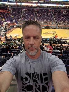 Austin attended Phoenix Mercury vs. Seattle Storm - WNBA Semi-finals on Aug 31st 2018 via VetTix