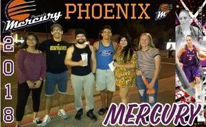 Christina attended Phoenix Mercury vs. Seattle Storm - WNBA Semi-finals on Aug 31st 2018 via VetTix