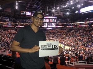 pedro attended Phoenix Mercury vs. Seattle Storm - WNBA Semi-finals on Aug 31st 2018 via VetTix