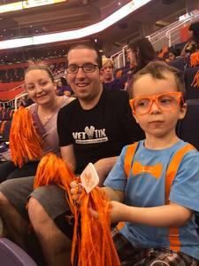 Shawn attended Phoenix Mercury vs. Seattle Storm - WNBA Semi-finals on Aug 31st 2018 via VetTix