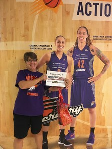 Robert attended Phoenix Mercury vs. Seattle Storm - WNBA Semi-finals on Aug 31st 2018 via VetTix