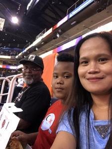 DECARLO attended Phoenix Mercury vs. Seattle Storm - WNBA Semi-finals on Aug 31st 2018 via VetTix
