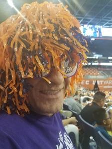 James attended Phoenix Mercury vs. Seattle Storm - WNBA Semi-finals on Aug 31st 2018 via VetTix