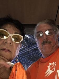 Charles attended Phoenix Mercury vs. Seattle Storm - WNBA Semi-finals on Aug 31st 2018 via VetTix