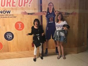 Richard attended Phoenix Mercury vs. Seattle Storm - WNBA Semi-finals on Aug 31st 2018 via VetTix