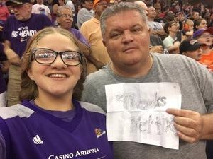 Jerry attended Phoenix Mercury vs. Seattle Storm - WNBA Semi-finals on Aug 31st 2018 via VetTix