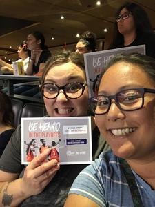 Jenny attended Phoenix Mercury vs. Seattle Storm - WNBA Semi-finals on Aug 31st 2018 via VetTix