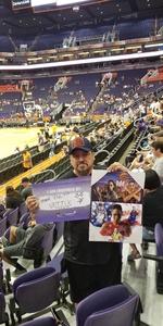Ralph attended Phoenix Mercury vs. Seattle Storm - WNBA Semi-finals on Aug 31st 2018 via VetTix