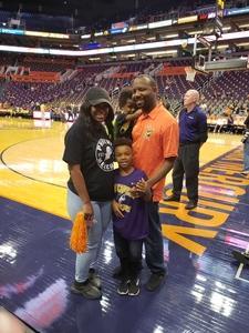 Kevin attended Phoenix Mercury vs. Seattle Storm - WNBA Semi-finals on Aug 31st 2018 via VetTix
