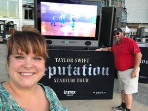 Kenny attended Taylor Swift Reputation Stadium Tour - Pop on Oct 5th 2018 via VetTix