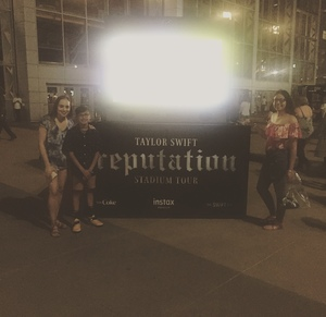 Rafael attended Taylor Swift Reputation Stadium Tour - Pop on Oct 5th 2018 via VetTix