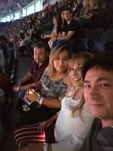 Lee attended Taylor Swift Reputation Stadium Tour - Pop on Oct 5th 2018 via VetTix