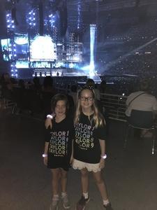 William attended Taylor Swift Reputation Stadium Tour - Pop on Sep 18th 2018 via VetTix