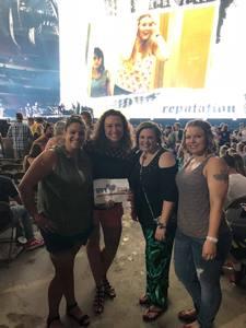 Kylee attended Taylor Swift Reputation Stadium Tour - Pop on Sep 18th 2018 via VetTix