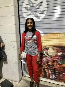 Cleo attended Ohio State Buckeyes vs. Oregon State - NCAA Football on Sep 1st 2018 via VetTix