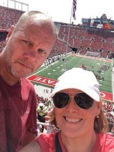 Greg attended Ohio State Buckeyes vs. Oregon State - NCAA Football on Sep 1st 2018 via VetTix