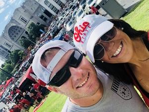Sam attended Ohio State Buckeyes vs. Oregon State - NCAA Football on Sep 1st 2018 via VetTix