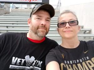 Lonnie attended Ohio State Buckeyes vs. Oregon State - NCAA Football on Sep 1st 2018 via VetTix