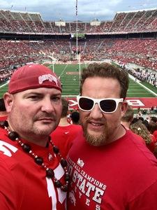 Jeremy attended Ohio State Buckeyes vs. Oregon State - NCAA Football on Sep 1st 2018 via VetTix