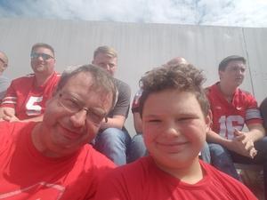 Arthur attended Ohio State Buckeyes vs. Oregon State - NCAA Football on Sep 1st 2018 via VetTix