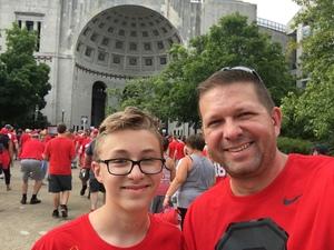 Joseph attended Ohio State Buckeyes vs. Oregon State - NCAA Football on Sep 1st 2018 via VetTix