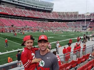 Daniel attended Ohio State Buckeyes vs. Oregon State - NCAA Football on Sep 1st 2018 via VetTix