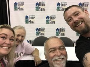 Lynn, USMC Veteran attended Fall Atlanta Home Show & Outdoor Living Expo 2018 - *See Special Instructions on Sep 7th 2018 via VetTix