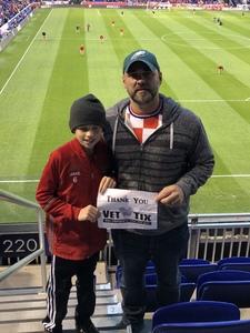 Michael attended New York Red Bulls vs. Orlando City SC - MLS on Oct 28th 2018 via VetTix