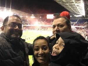 John attended New York Red Bulls vs. Orlando City SC - MLS on Oct 28th 2018 via VetTix