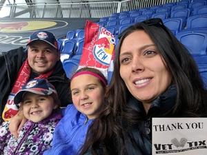 Rafal attended New York Red Bulls vs. Orlando City SC - MLS on Oct 28th 2018 via VetTix