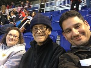 David attended New York Red Bulls vs. Orlando City SC - MLS on Oct 28th 2018 via VetTix
