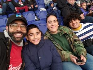 Arturo M attended New York Red Bulls vs. Orlando City SC - MLS on Oct 28th 2018 via VetTix
