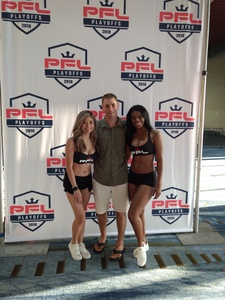 Eric attended Pfl 8 - Playoffs - Live Mixed Martial Arts - Presented by Professional Fighters League on Oct 5th 2018 via VetTix