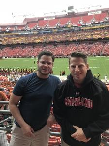 Tim attended Texas Longhorns vs. Maryland Terrapins - NCAA Football on Sep 1st 2018 via VetTix