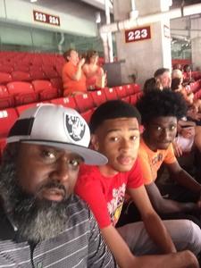 Antonio attended Texas Longhorns vs. Maryland Terrapins - NCAA Football on Sep 1st 2018 via VetTix