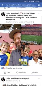 John attended Texas Longhorns vs. Maryland Terrapins - NCAA Football on Sep 1st 2018 via VetTix